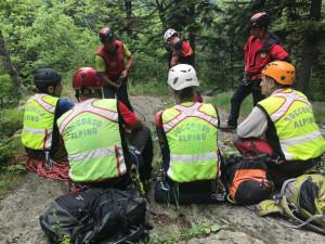 Boy scout 14enne salvato dal Soccorso Alpino nella tarda serata di ieri