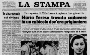 Ora Canale vuole saldare il suo debito con l'adolescente uccisa nel 1969
