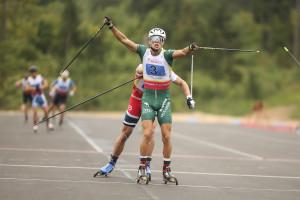 Skiroll, medaglia d'oro per il bovesano Francesco Becchis ai mondiali in Lettonia