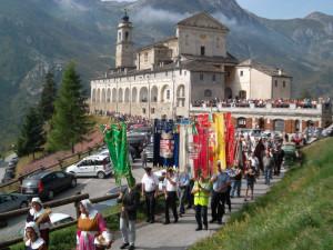 Il presidente della Provincia Borgna alla festa patronale di Castelmagno