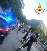 Auto contro moto a Vernante, interviene l'elisoccorso