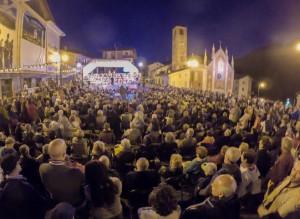 Pienone a Sampeyre per il concerto di Ferragosto sotto le stelle