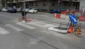 Cuneo, al via i lavori per la riqualificazione e messa in sicurezza degli attraversamenti pedonali in Corso Brunet