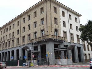A breve ripartiranno i lavori sulla facciata del palazzo della Provincia