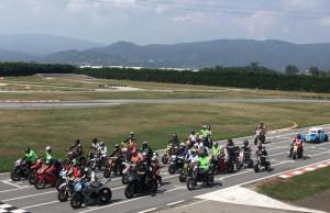 Oltre sessanta moto in pista a Busca per il memorial 'Pietro Incrisse'