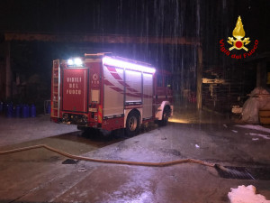 La lunga notte dei vigili del fuoco tra allagamenti e alberi pericolanti