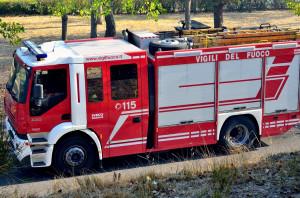 Auto cappottata a San Lorenzo di Caraglio, due feriti