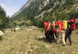Si infortuna alla caviglia mentre sale al monte Grosso in valle Ellero, recuperato dal Soccorso Alpino