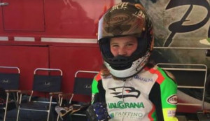 Motociclismo: Arianna Barale battuta dalla sfortuna a Varano de' Melegari