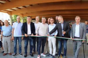 Alba: inaugurata la copertura della pista di pattinaggio 'Paolo Brusco'