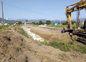 Ripresi i lavori per la rotatoria sulla Cuneo-Caraglio, traffico 'ribaltato' sulla provinciale 23