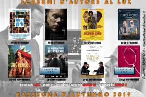 Al 'Lux' di Busca da ottobre ritorna il cinema d'autore con grandi ospiti