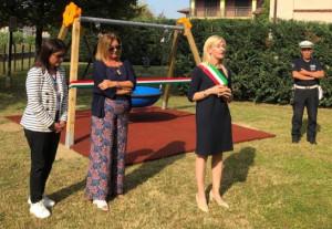 A Santo Stefano Belbo c'è un nuovo parco giochi inclusivo