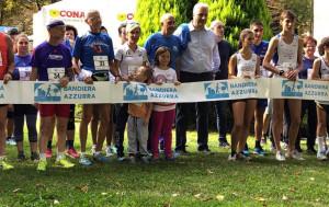 Cuneo ha ricevuto dalla FIDAL la 'Bandiera Azzurra' per l'impegno nella promozione della corsa