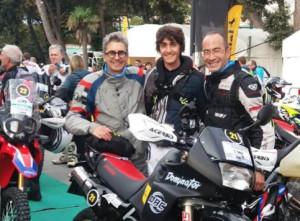 Motori, anche tre cuneesi alla 'Transitalia Marathon' 2019