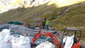 In fase di completamento i lavori per dotare il Rifugio Vallanta di un impianto di fitodepurazione