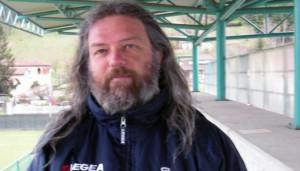 La dedica del presidente della Pro Dronero Corrado Beccacini dopo la vittoria sul Vanchiglia