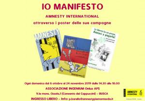 A Busca una mostra di Amnesty International attraverso i poster delle sue campagne per i Diritti Umani