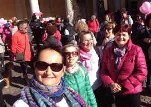 Passeggiata in rosa per le vie di Cherasco nel mese della prevenzione nazionale del tumore al seno