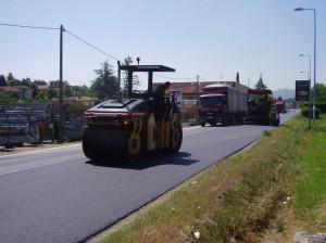 Da lunedì 7 ottobre lavori di asfaltatura sulle provinciali tra Cervasca e Vignolo