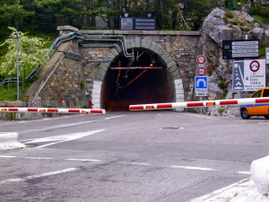 Riapre al traffico il tunnel di Tenda