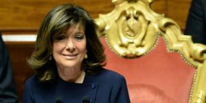 La presidente del Senato Casellati a Carrù dopo le polemiche sul suo vitalizio