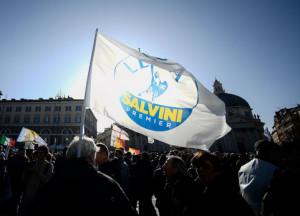 Oltre 250 i leghisti cuneesi sabato a Roma: 'Per dire basta a questo governo di poltronari'