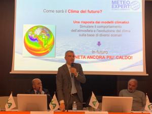 Giuliacci a Cuneo: 'Dal 1962 in Piemonte la superficie dei ghiacciai è diminuita del 50%'