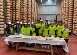 I formaggi Valgrana presenti all'evento 'Pere Made Roero 2019'
