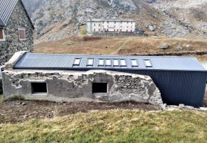 Conclusi i lavori alla struttura del locale escursionistico di Pian del Re