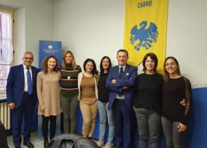 Commercianti, incontro tra Confcommercio Cuneo e l'Ascom di Carrù