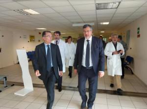Cirio e Icardi oggi a Mondovì per i dieci anni dell'ospedale