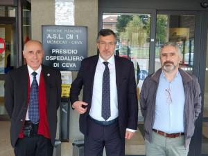 Icardi in visita all'ospedale di Ceva 'graffia' la Rossotti: 'Ha attaccato con veemenza gratuita un medico al lavoro'