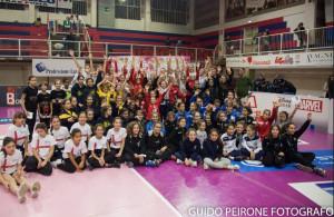 Pallavolo, a Mondovì 24 squadre Under 12 in campo per il torneo di Halloween