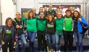 Un gruppo della Podistica Buschese alla maratona di Ravenna