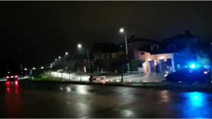 Savigliano, un'auto si è ribaltata fuori strada