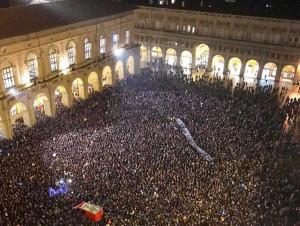 Dopo Modena e Bologna anche a Cuneo arrivano le sardine per contrastare la Lega di Salvini