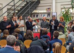 Bra: Fabio Geda ha inaugurato 'Into the books', al via gli incontri per giovani lettori