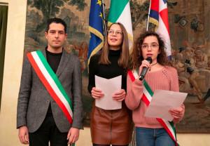 I ragazzi di Bernezzo hanno illustrato in Consiglio regionale un progetto sull'Olocausto