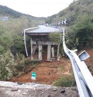 Autostrada A6, crolla un viadotto tra Savona e Altare