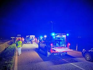 Tarantasca, incidente sulla provinciale: due feriti