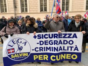 Cuneo, la Lega chiede più sicurezza e lancia il guanto di sfida al centrosinistra per il governo della città