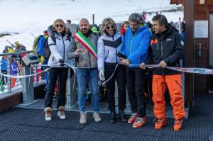 In 3500 a Limone Piemonte per l'apertura delle piste della Riserva Bianca