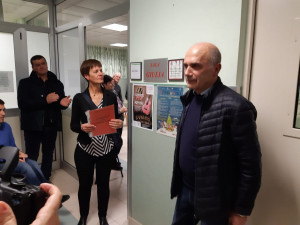Una sala intitolata a Giulia Cacciolatti al day hospital oncologico del Carle