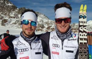 Al via la stagione dei due 'alfieri' dello sci nordico cuneese Lorenzo Romano e Daniele Serra