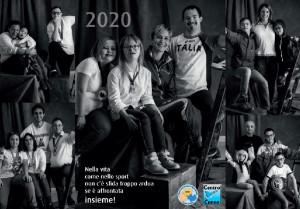Gli sportivi cuneesi, da Marco Olmo a Marta Bassino, in posa per il calendario del Centro Down