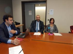 Gli esponenti del M5S Cuneo Cina e Isoardi a Bruxelles dall'europarlamentare Tiziana Beghin
