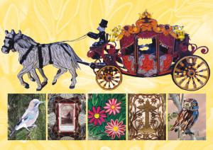In Provincia la mostra 'Paperoles, mondi incantati di carta' di Mario Collino
