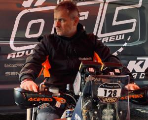 Il pilota Nicola Dutto pronto per una nuova sfida in Africa: 'La moto mi ha spezzato in due, ma mi ha insegnato a vivere'