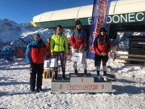 Sci alpino, l'aspirante Martina Piaggio vince lo slalom FIS a Bardonecchia